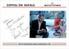 Wizyta Redaktora  Kamila  Durczoka z TVN